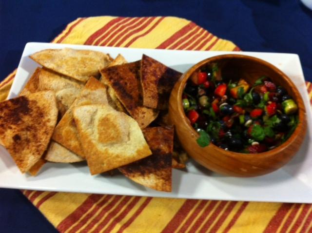 WBTV 'Kids' Cooking Segment – Fruit Salsa and Chips