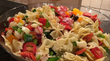 4th of July Pasta Salad on NBC's Charlotte Today Show